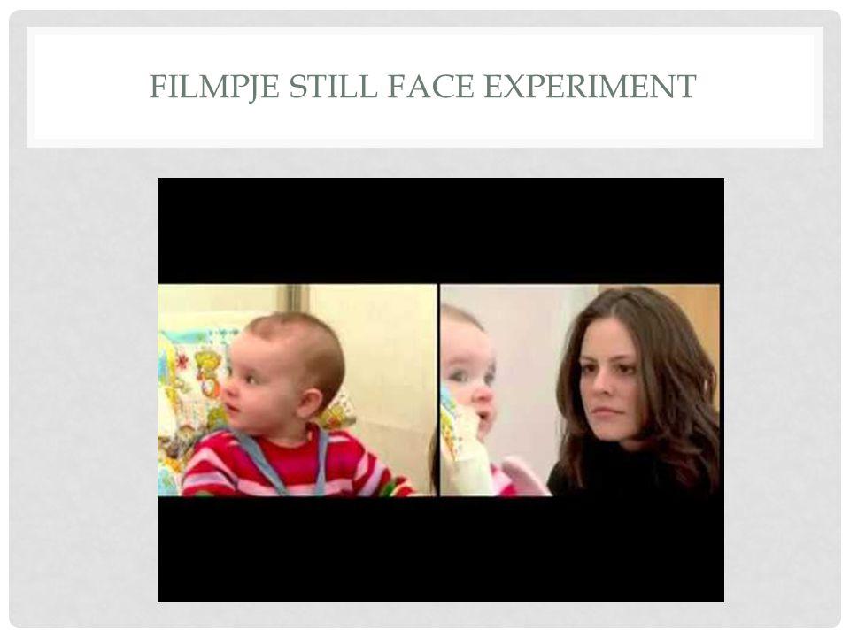 FILMPJE STILL FACE EXPERIMENT