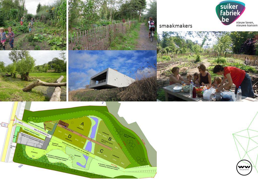 Met dank aan: projectsubsidies Vlaamse Landmaatschappij ( 75%, max.