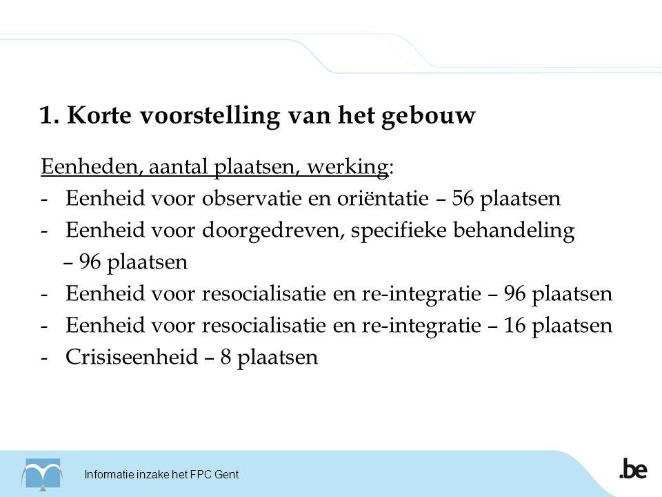Schets FPC Gent Informatie inzake het FPC Gent