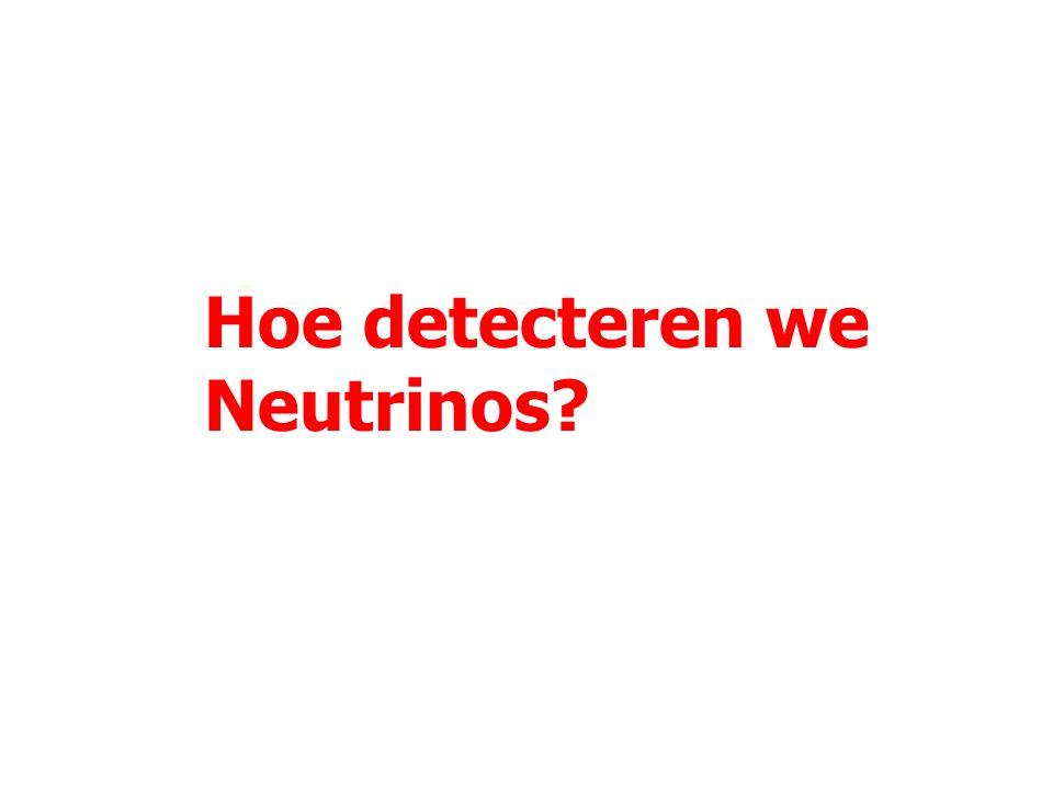 28 Vragen rond neutrino's Hoe zwaar zijn neutrino's .