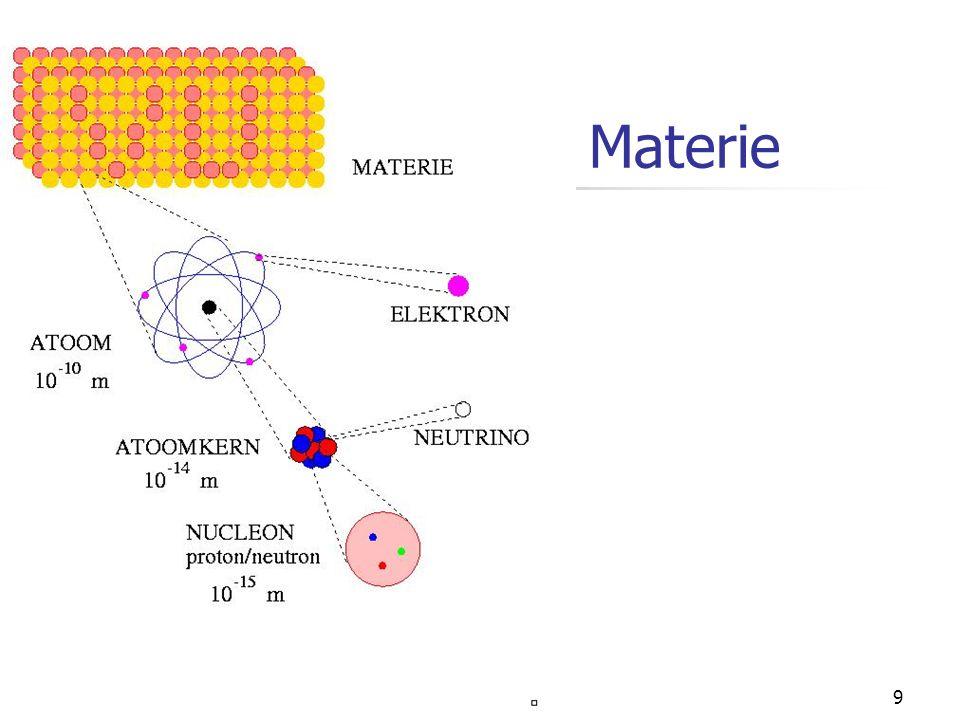 8 Materie