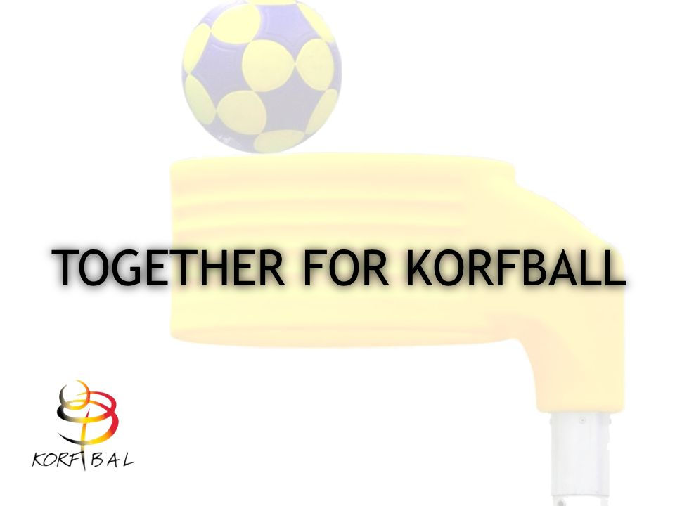 TOGETHER FOR KORFBALL
