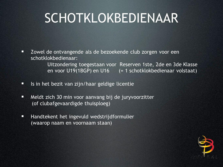 CLINIC : SCHOTKLOK ZAALSEIZOEN 2015-2016 5 oktober 2015 Guy Vandenberghe i.s.m.