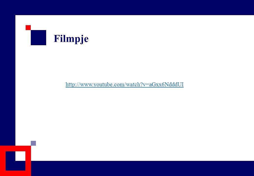 Filmpje http://www.youtube.com/watch?v=aGxx6NdddUI