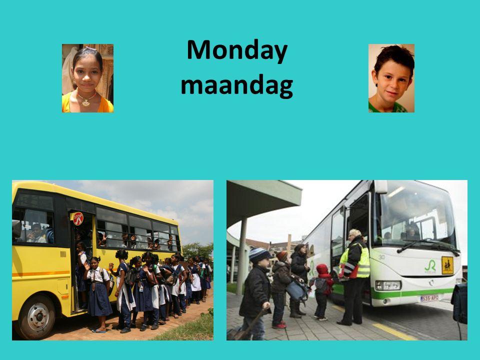 Monday maandag