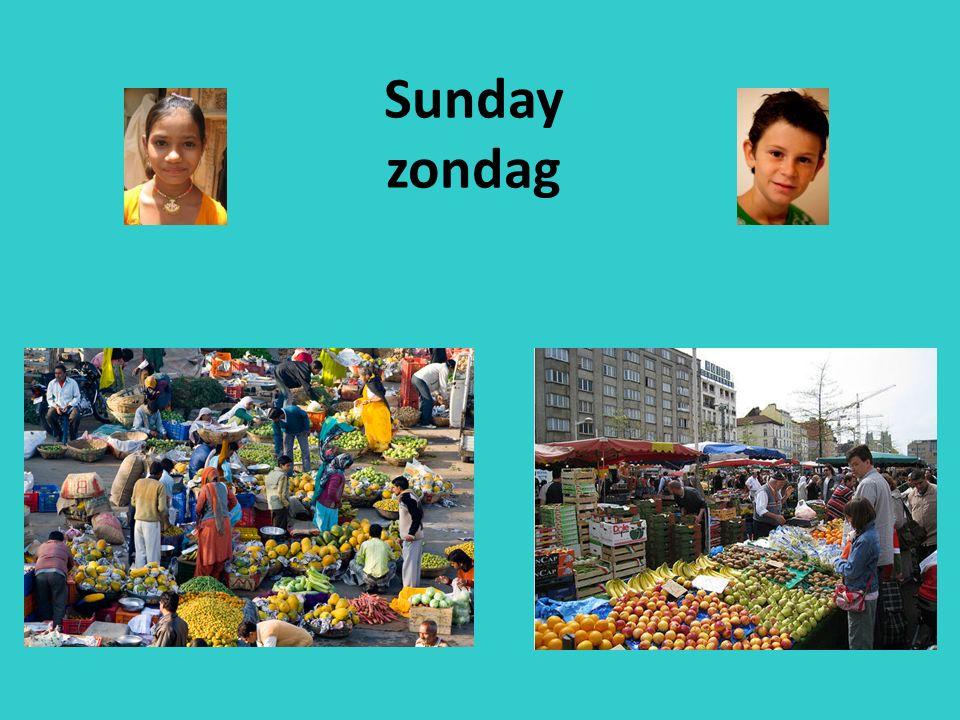 Sunday zondag