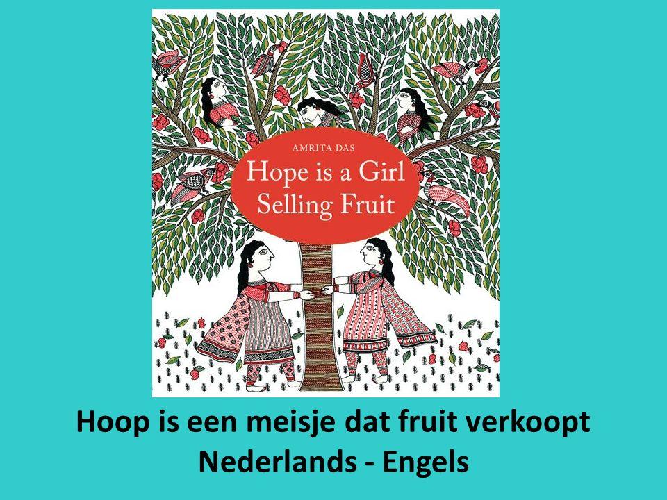 Hoop is een meisje dat fruit verkoopt Nederlands - Engels