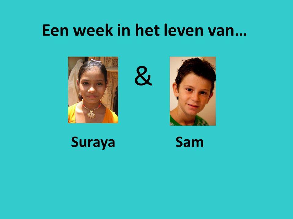 Een week in het leven van… & SurayaSam