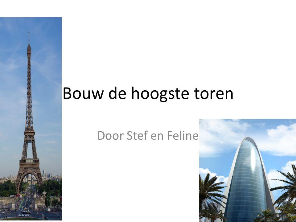Bouw de hoogste toren Door Stef en Feline