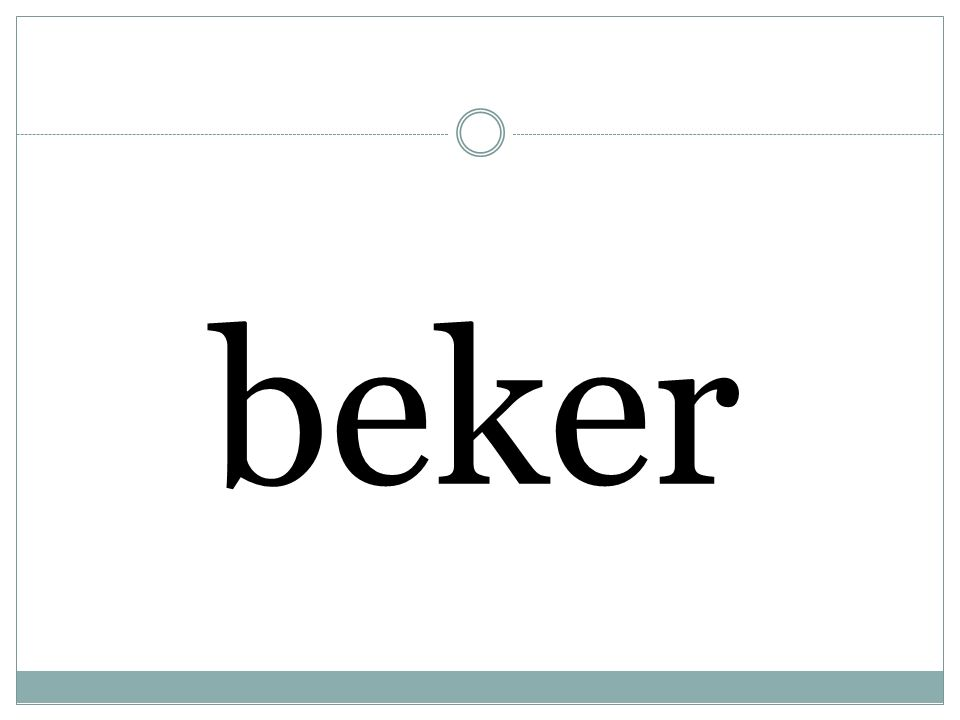 beker