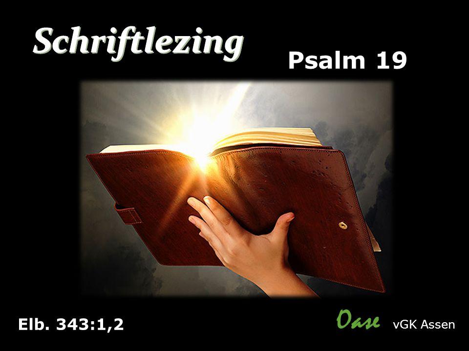 Elb. 343:1,2 Psalm 19