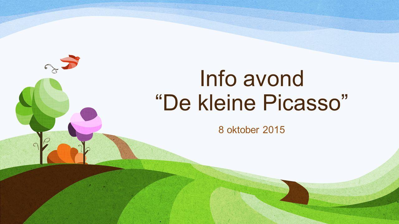 Info avond De kleine Picasso 8 oktober 2015