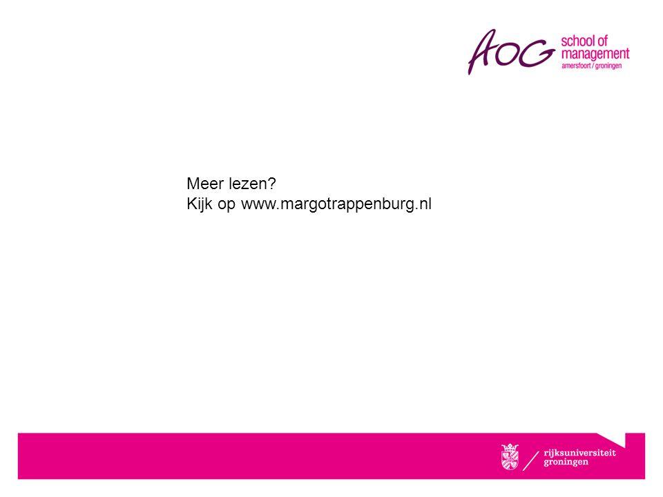 Meer lezen Kijk op www.margotrappenburg.nl