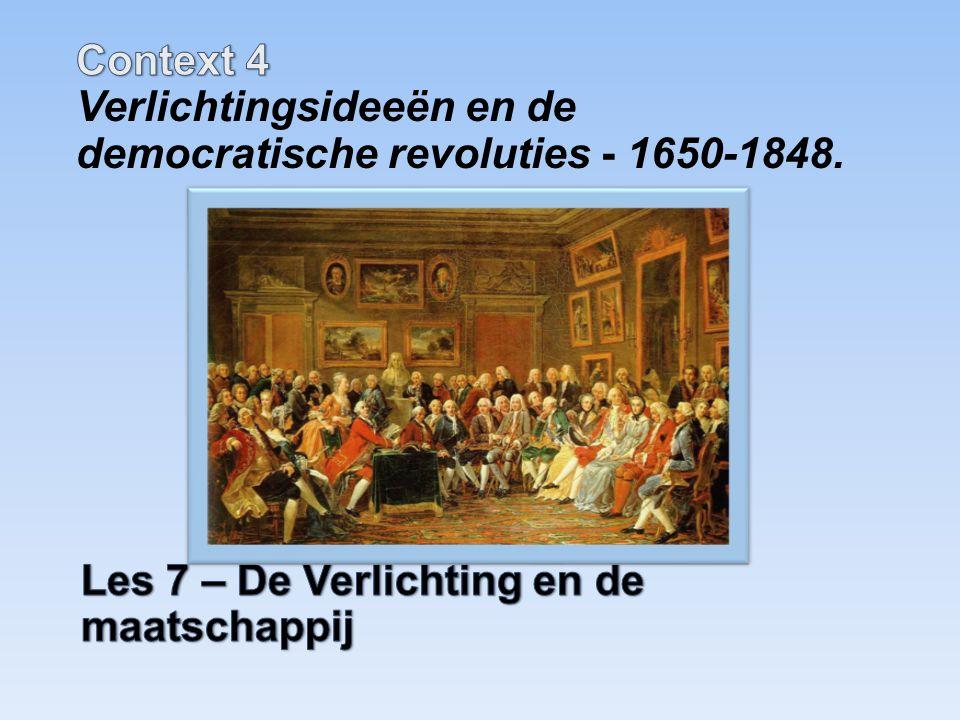 Spinoza (1632-1677) Zijn idee dat God geen Opperwezen is, maar samenvalt met de natuur, ging voor zijn tijd te ver.