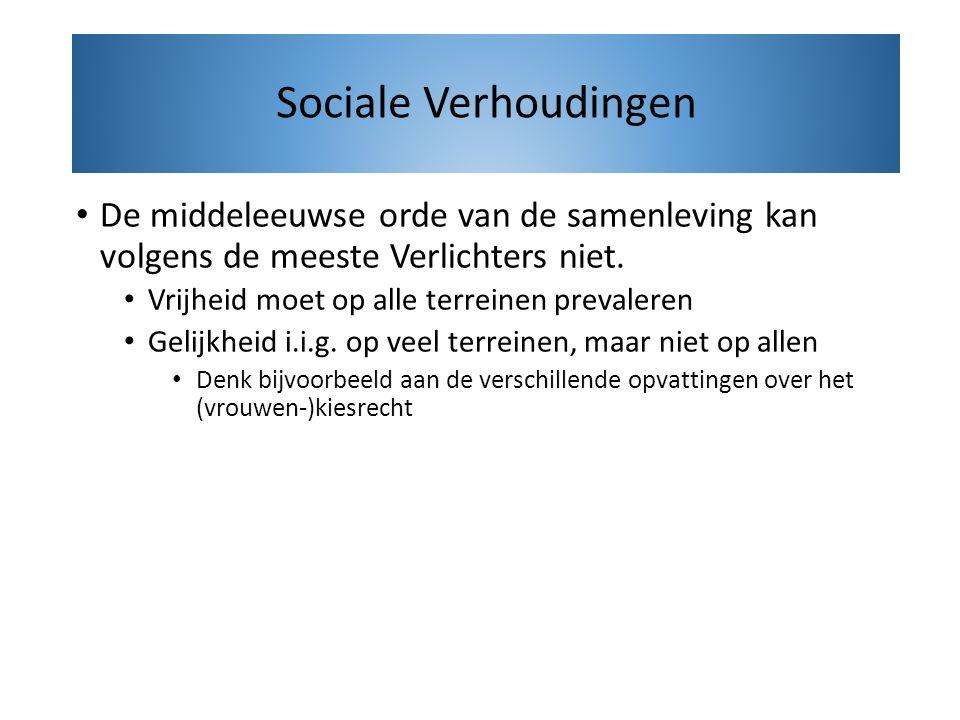Volgens Locke en Rousseau moeten burgers een sociaal contract opstellen.
