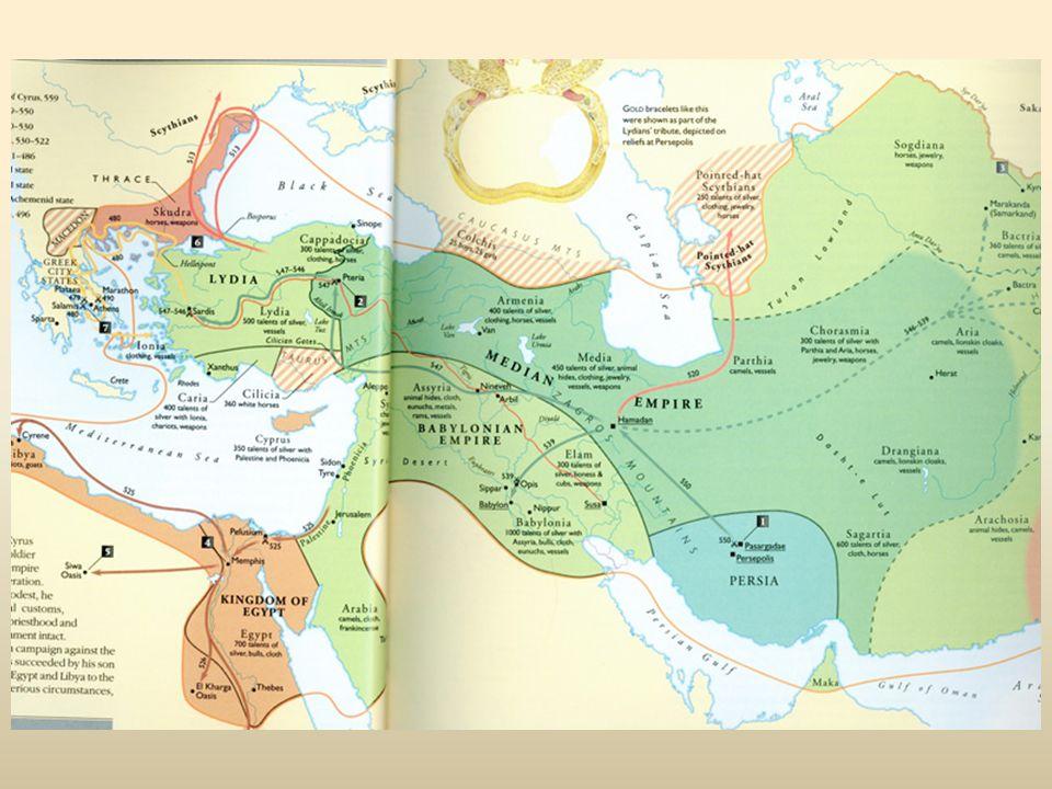 Grieken botsen met 1) Perzen 500 Ionische Opstand 490/480 Perzische Oorlogen 2) Karthagers 480 Himera 3) Etrusken 474 Kumē
