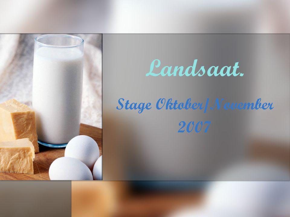 Landsaat. Stage Oktober/November 2007