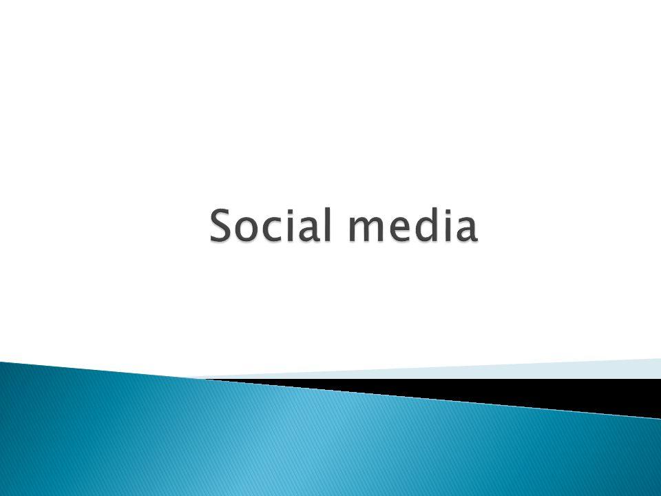  Marketing  Goede kanten van social media  Zwakke kanten van social media  Aantallen social media  Paar bekende social media's