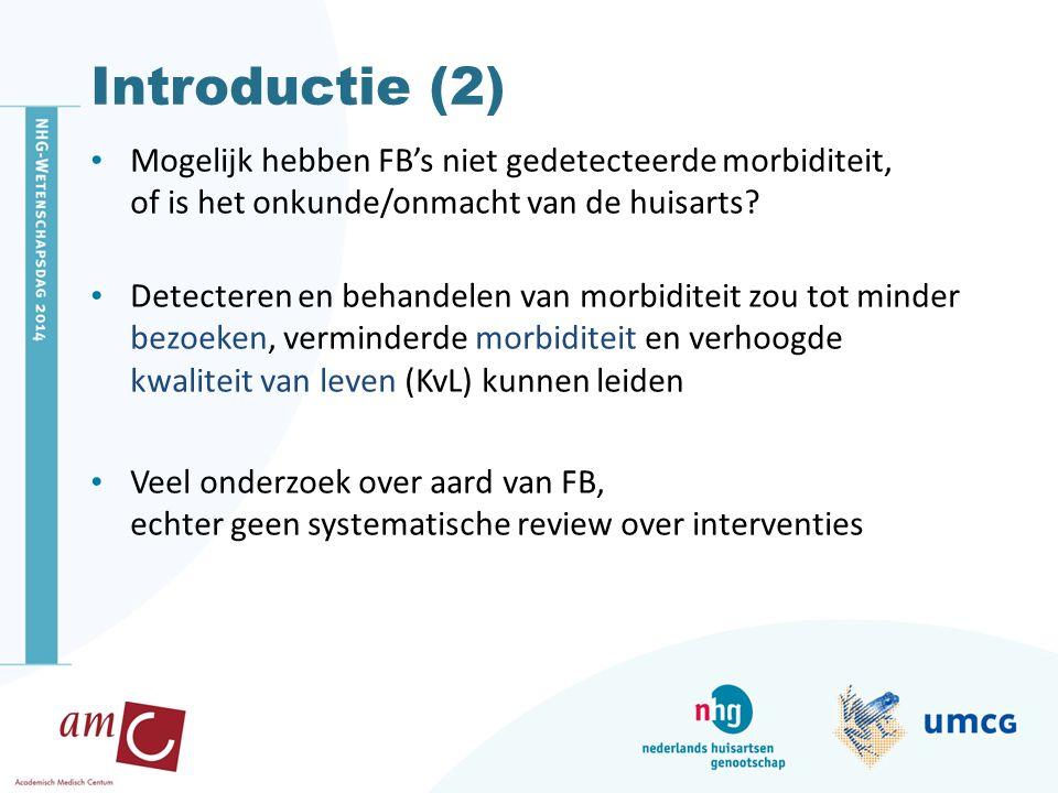 Doel van dit onderzoek Welke interventies zijn bestudeerd in RCTs.