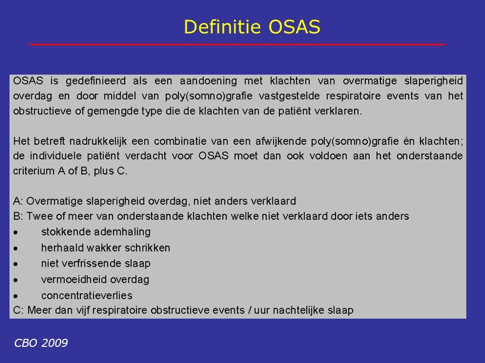 Definitie OSAS CBO 2009