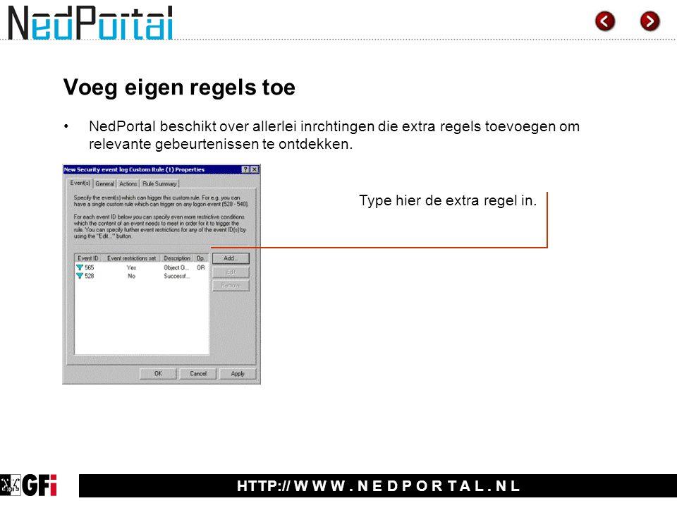 HTTP:// W W W. N E D P O R T A L.