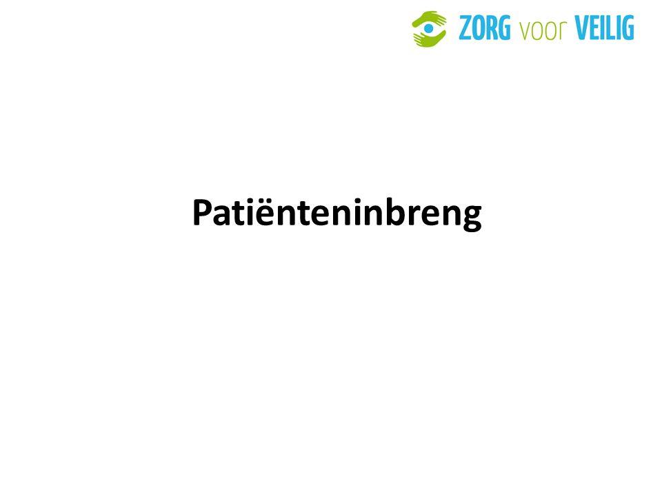 28 Patiënteninbreng