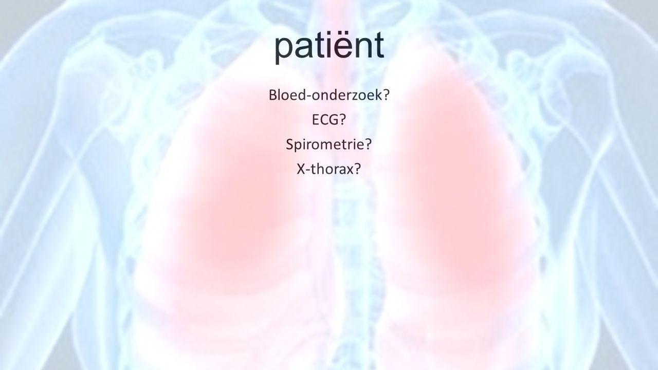 COPD comorbiditeit Anaemie 12,3 tot 23% Relatie niet helemaal duidelijk: ondervoeding.