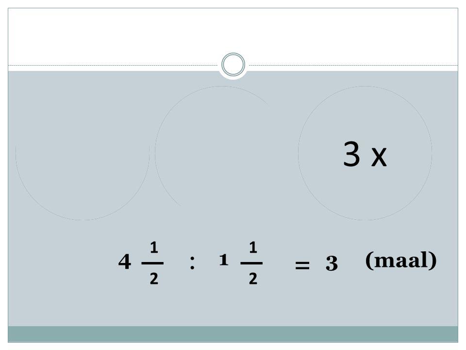 1212 1212 1212 111 4 1 2 : 1 1 2 = 3 (maal) 1x2 x3 x