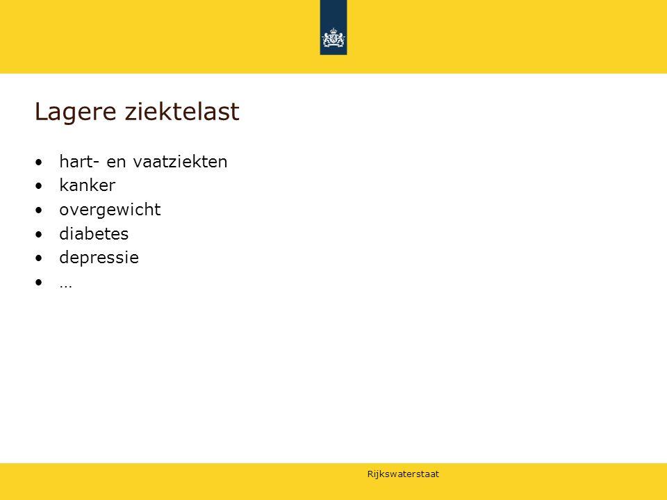 Rijkswaterstaat Stellingen Stelling 1: Gebruik van informatie over maatschappelijke (gezondheids)baten van fietsen -in euro's- zal leiden tot meer investeringen om fietsen te stimuleren.