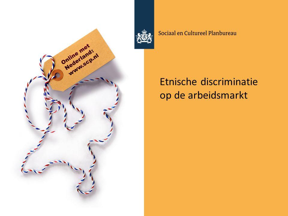 Etnische discriminatie op de arbeidsmarkt