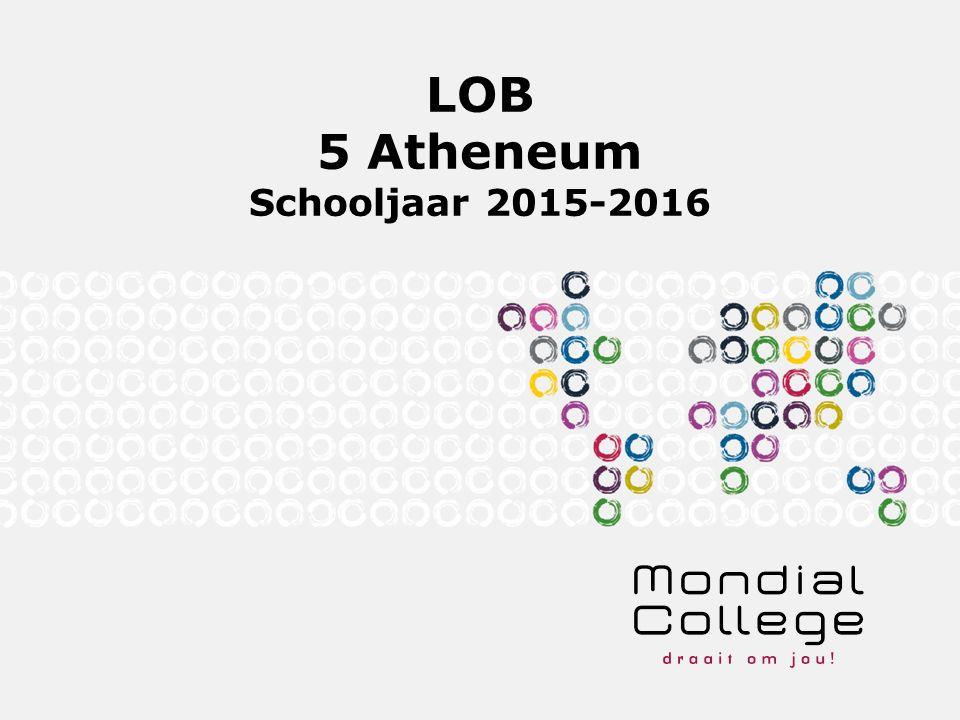 LOB 5 Atheneum Schooljaar 2015-2016