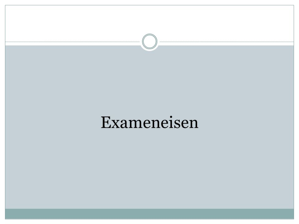 Exameneisen
