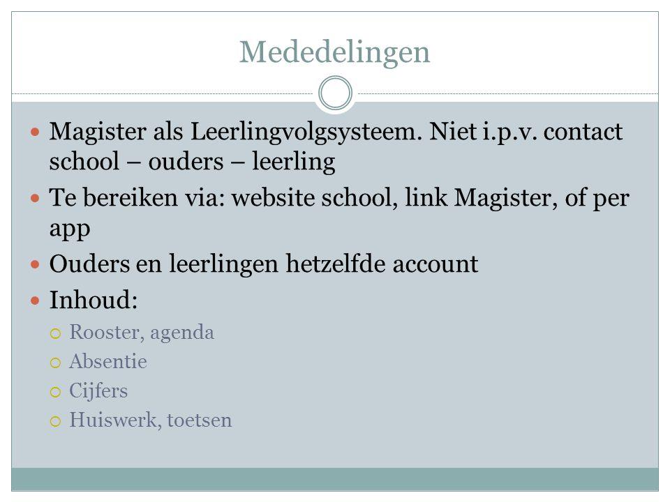 Klassenmentoren 3 K/GL 1Dhr.Berghout 3 K/GL 2 3 E basis Mevr.