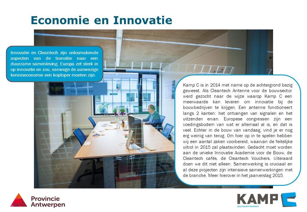 Economie en Innovatie Kamp C is in 2014 met name op de achtergrond bezig geweest.