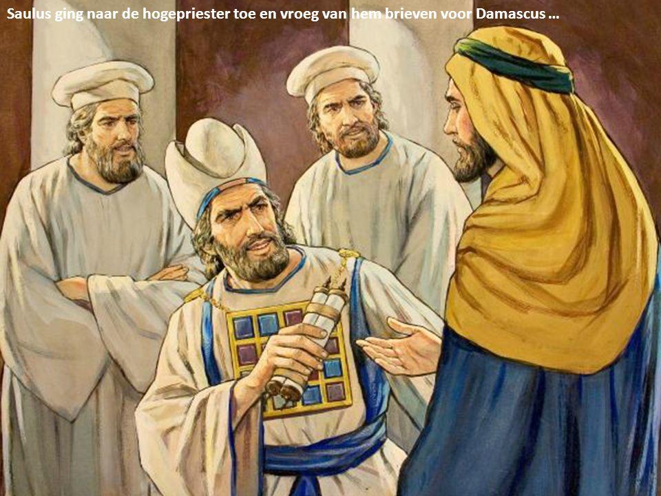 Saul, broeder, de Heere heeft mij gestuurd, opdat u weer ziende zou worden en met de Heilige Geest vervuld zou worden.