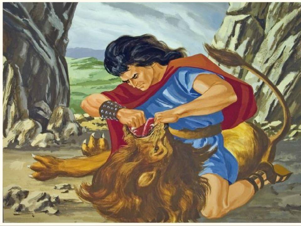 De Filistijnen, versloeg Simson in zijn eentje!