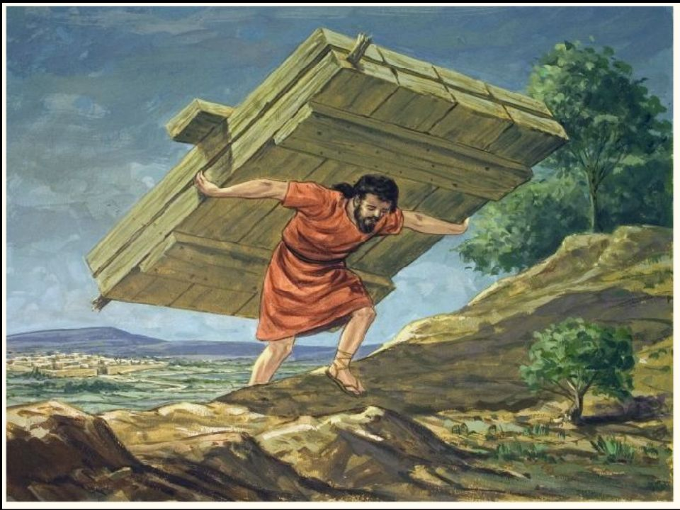 De Filistijnen hadden een plan bedacht maar Simson was sterker …