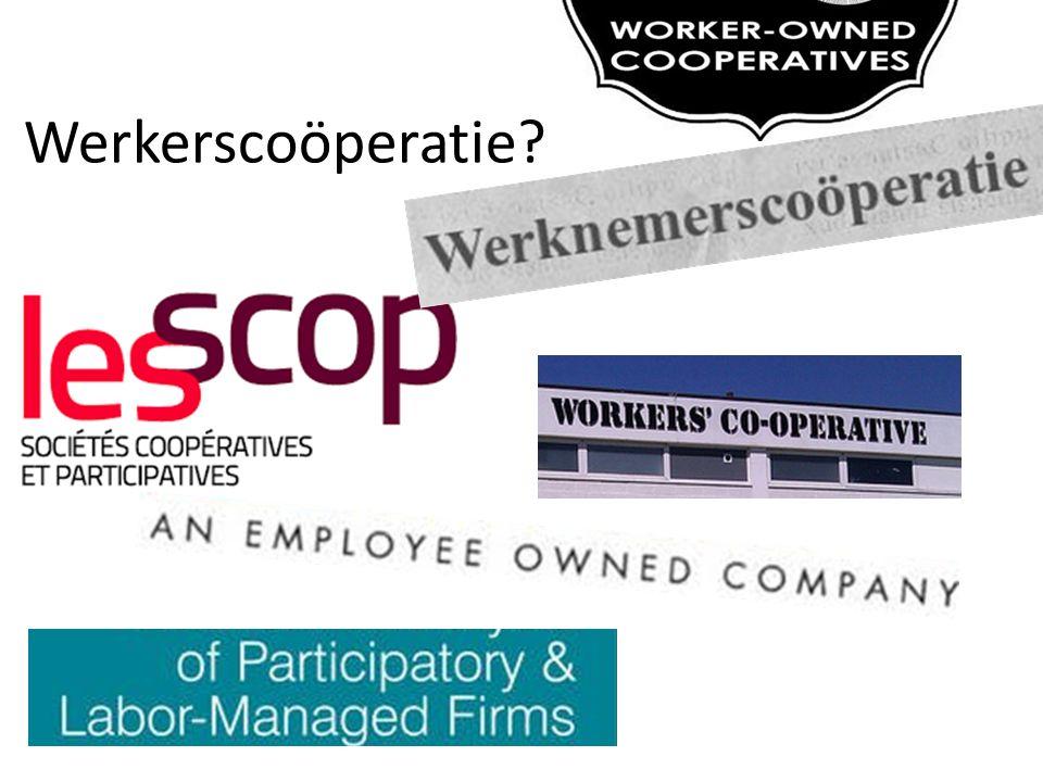Werkerscoöperatie