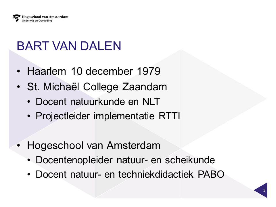 BART VAN DALEN Haarlem 10 december 1979 St.