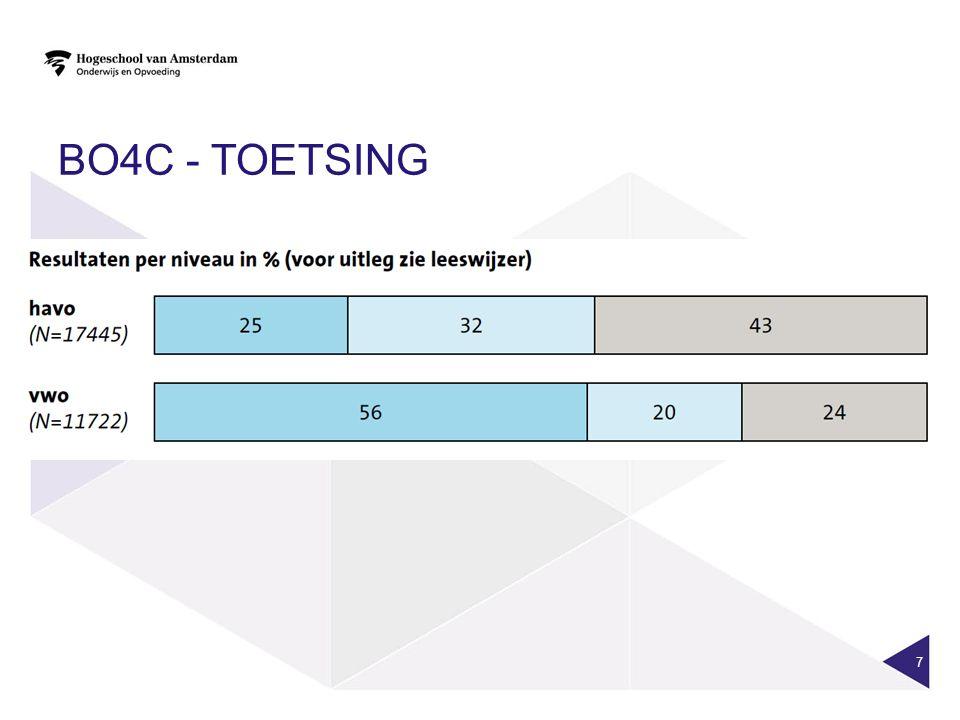 BO4C - TOETSING 7