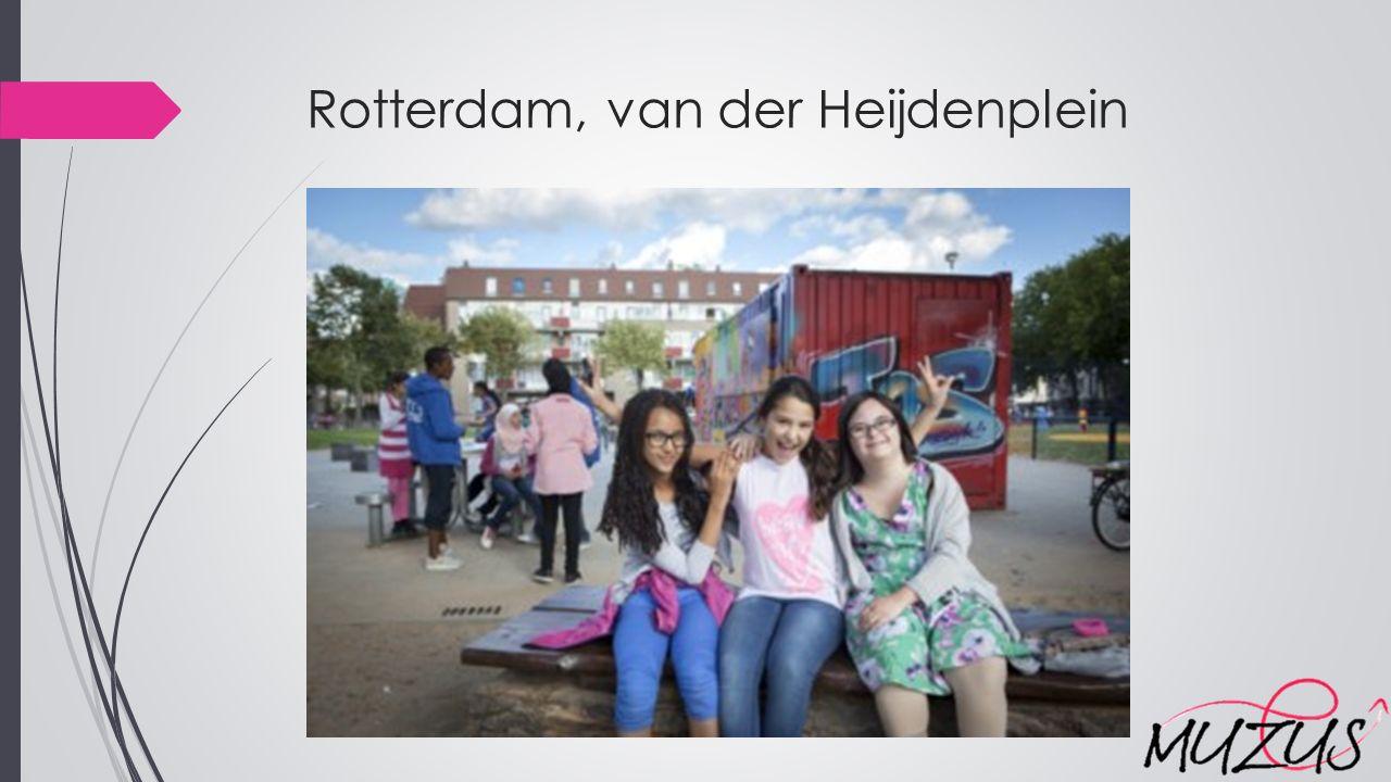 Rotterdam, van der Heijdenplein