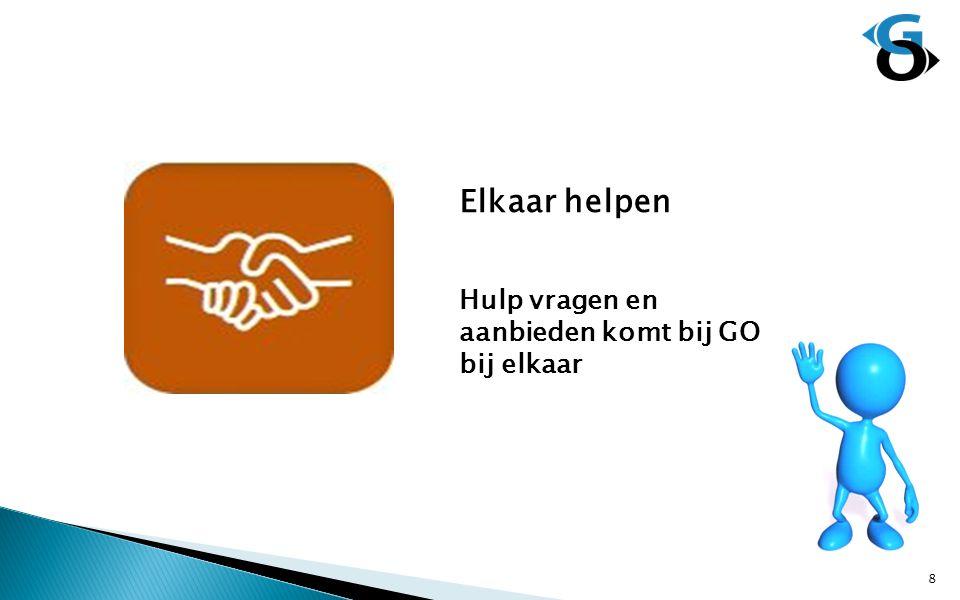 Elkaar helpen Hulp vragen en aanbieden komt bij GO bij elkaar 8
