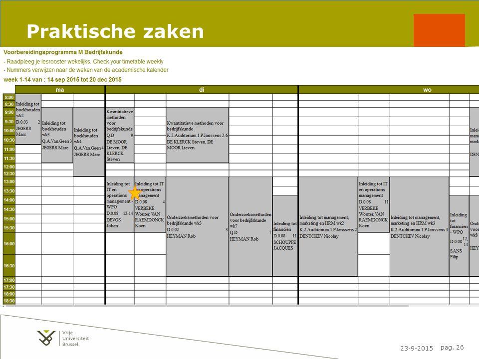 23-9-2015 pag. 26 Praktische zaken