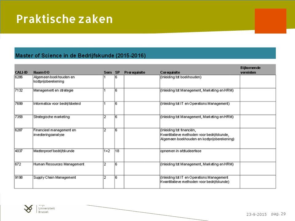 23-9-2015 pag. 29 Praktische zaken