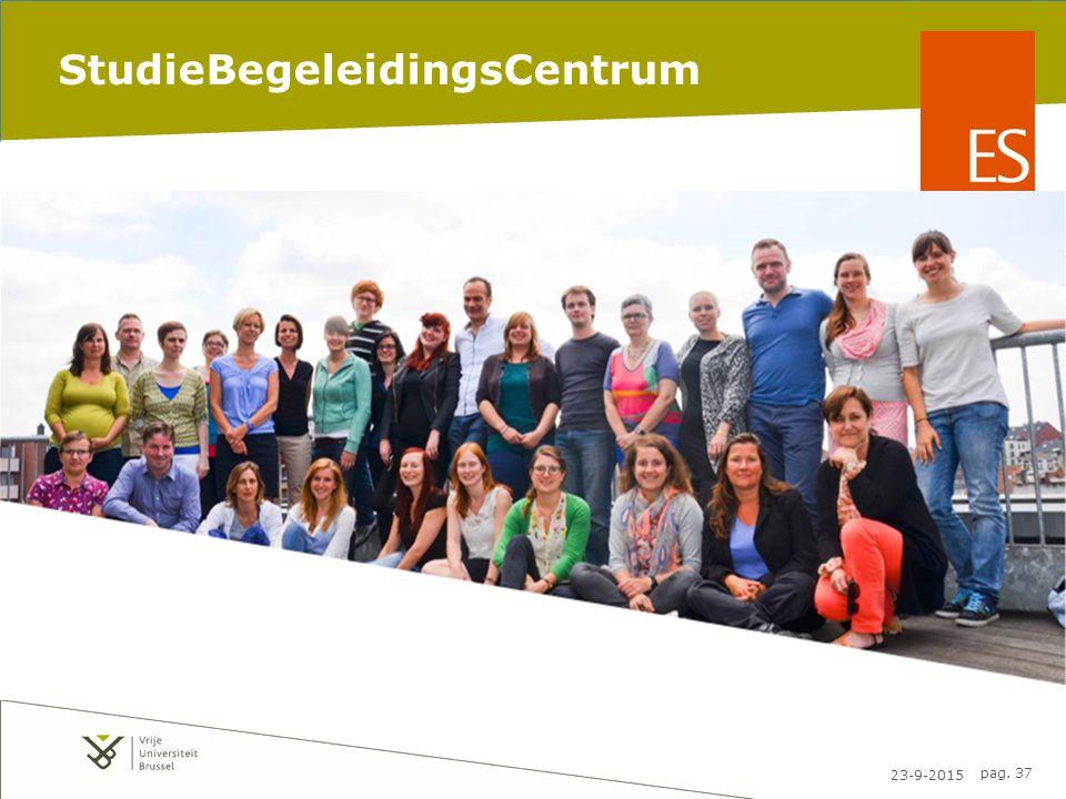 23-9-2015 pag. 37 StudieBegeleidingsCentrum