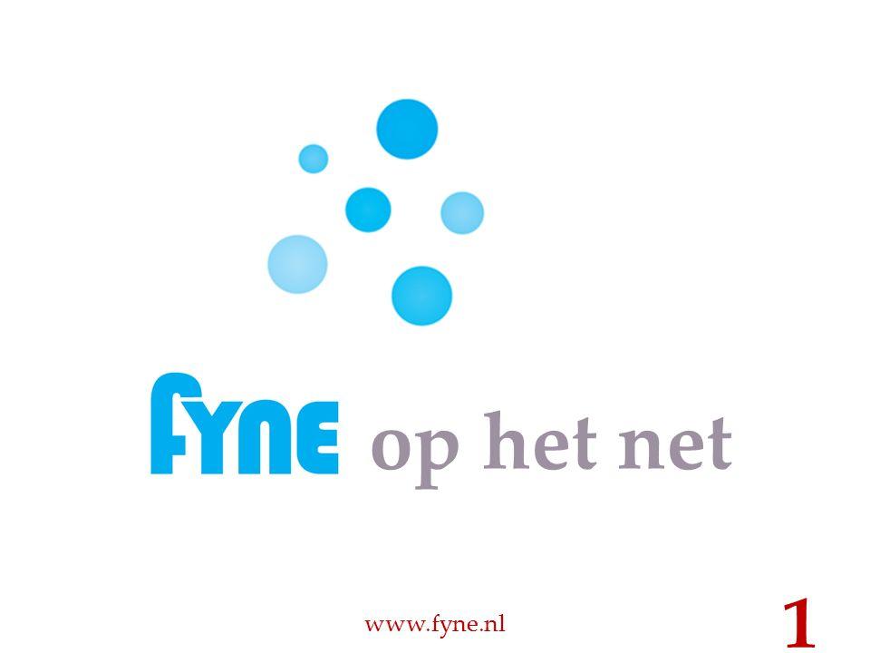 op het net www.fyne.nl 1
