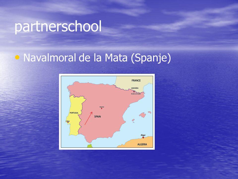 partnerschool Navalmoral de la Mata (Spanje)