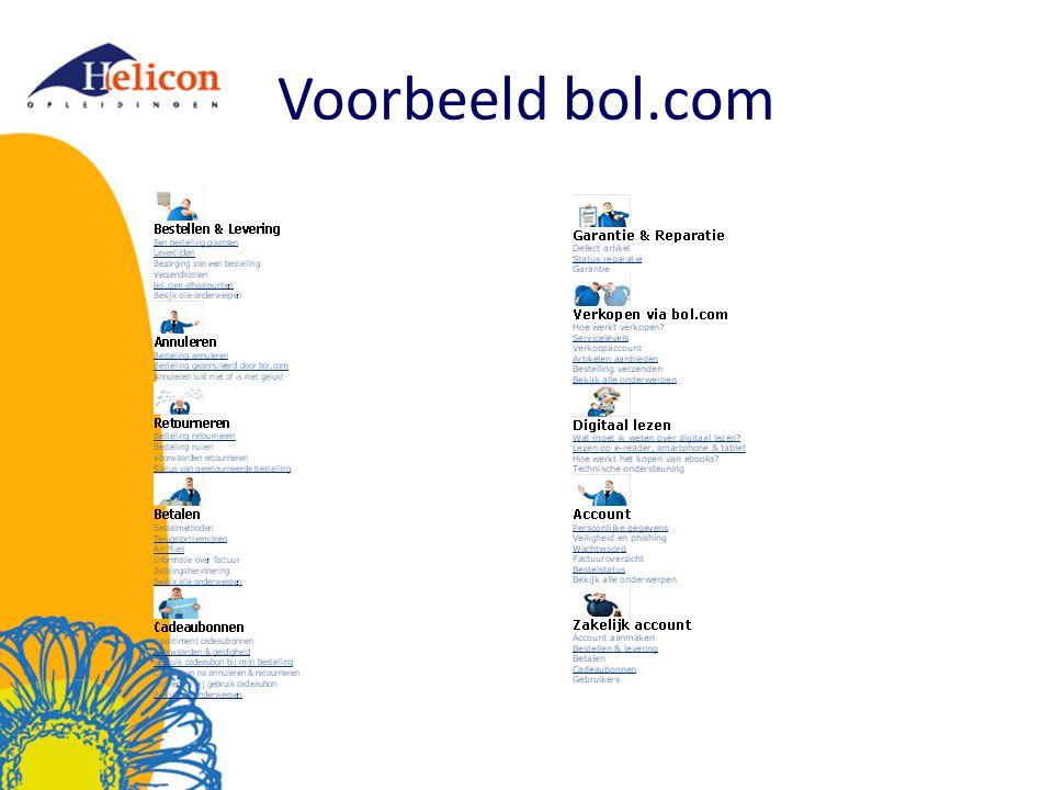 Voorbeeld bol.com