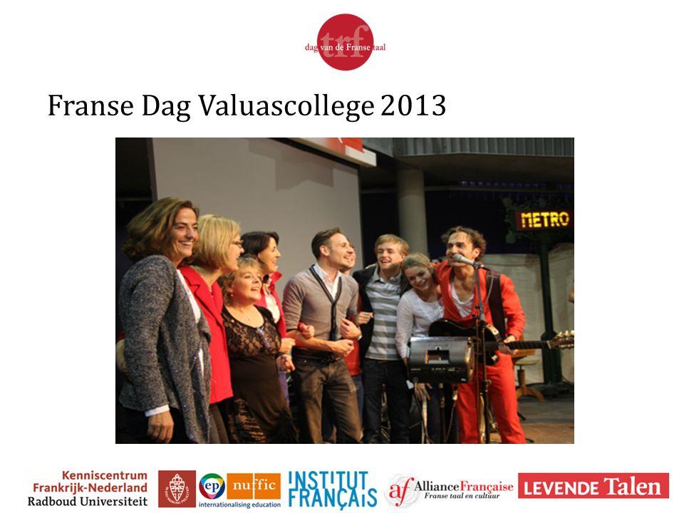 Franse Dag Valuascollege 2013