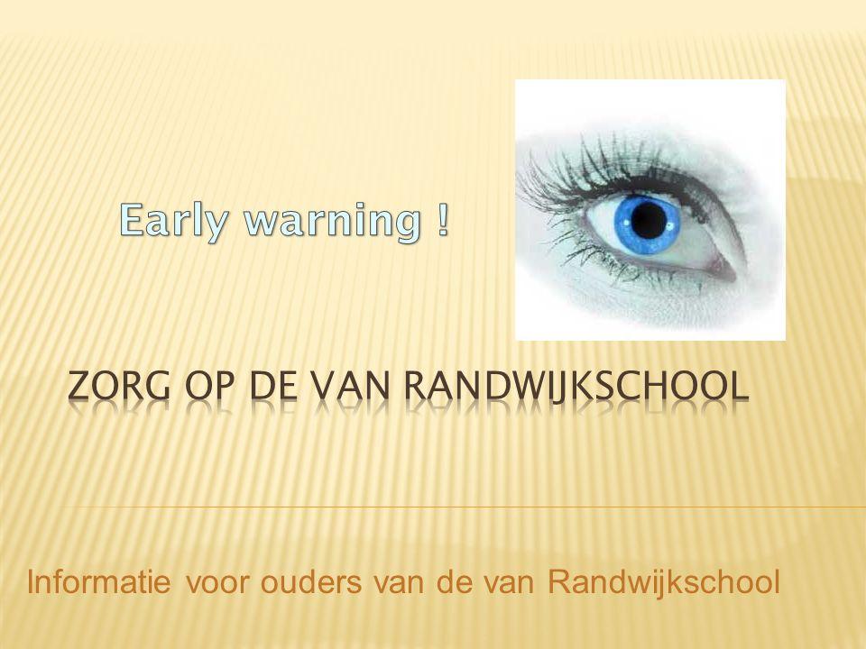 Informatie voor ouders van de van Randwijkschool